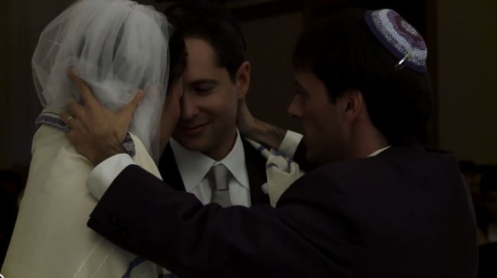 Chicago Jewish wedding videographer filmed by Oak Street Films Chicago