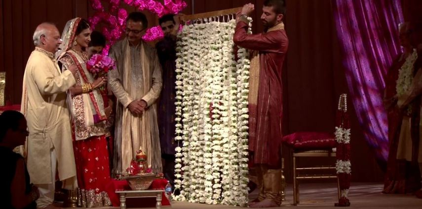 Sheraton Chicago Indian wedding videographer at its best filmed by Oak Street Films Chicago