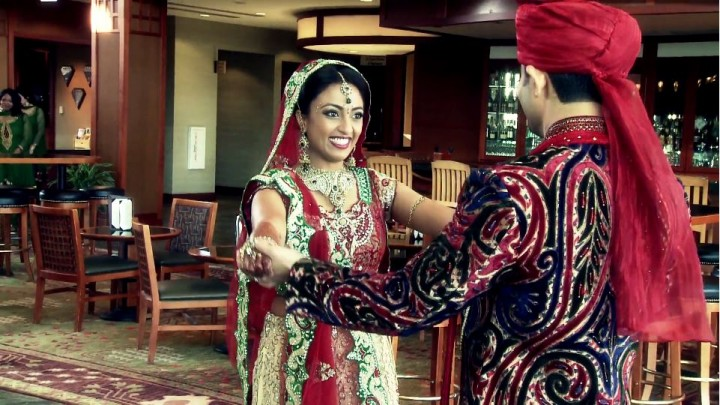Indian wedding videographer at its best filmed by Oak Street Films Chicago