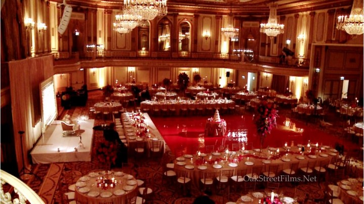 Palmer House Hilton Indian Wedding Videographer At Its Best Filmed By Oak Street Films Chicago