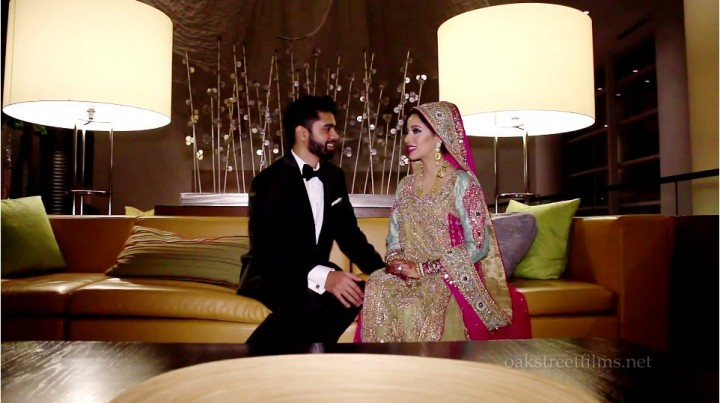 Muslim wedding videographer at its best filmed by Oak Street Films Chicago's